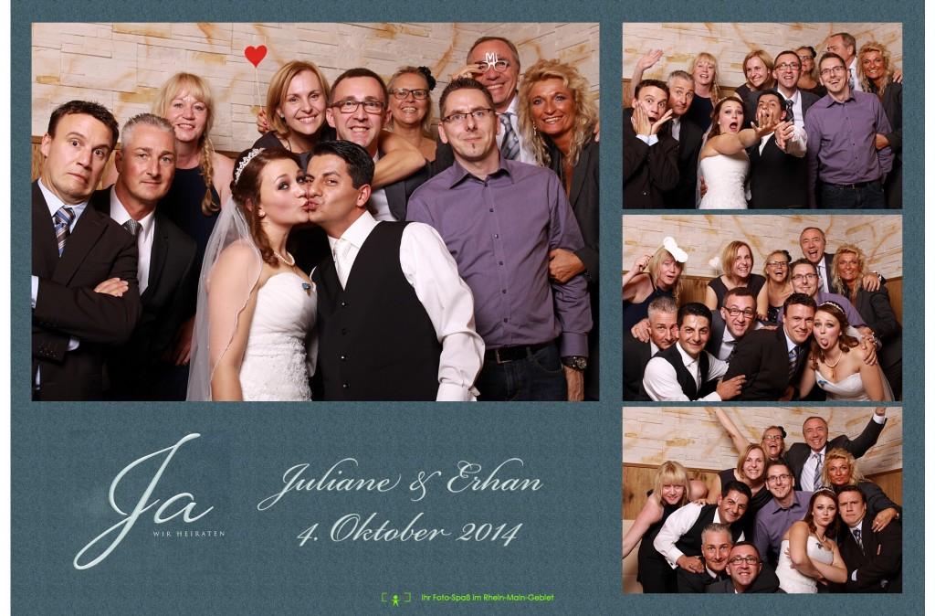 Hochzeit von Juliane & Erhan
