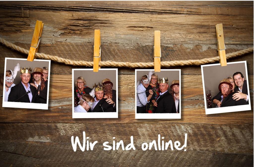 Wir sind online! ;-)